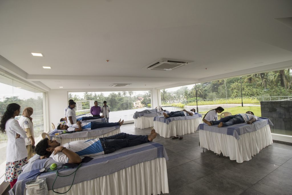 Health Oriented Drive. NorthernSky Blood donation camp