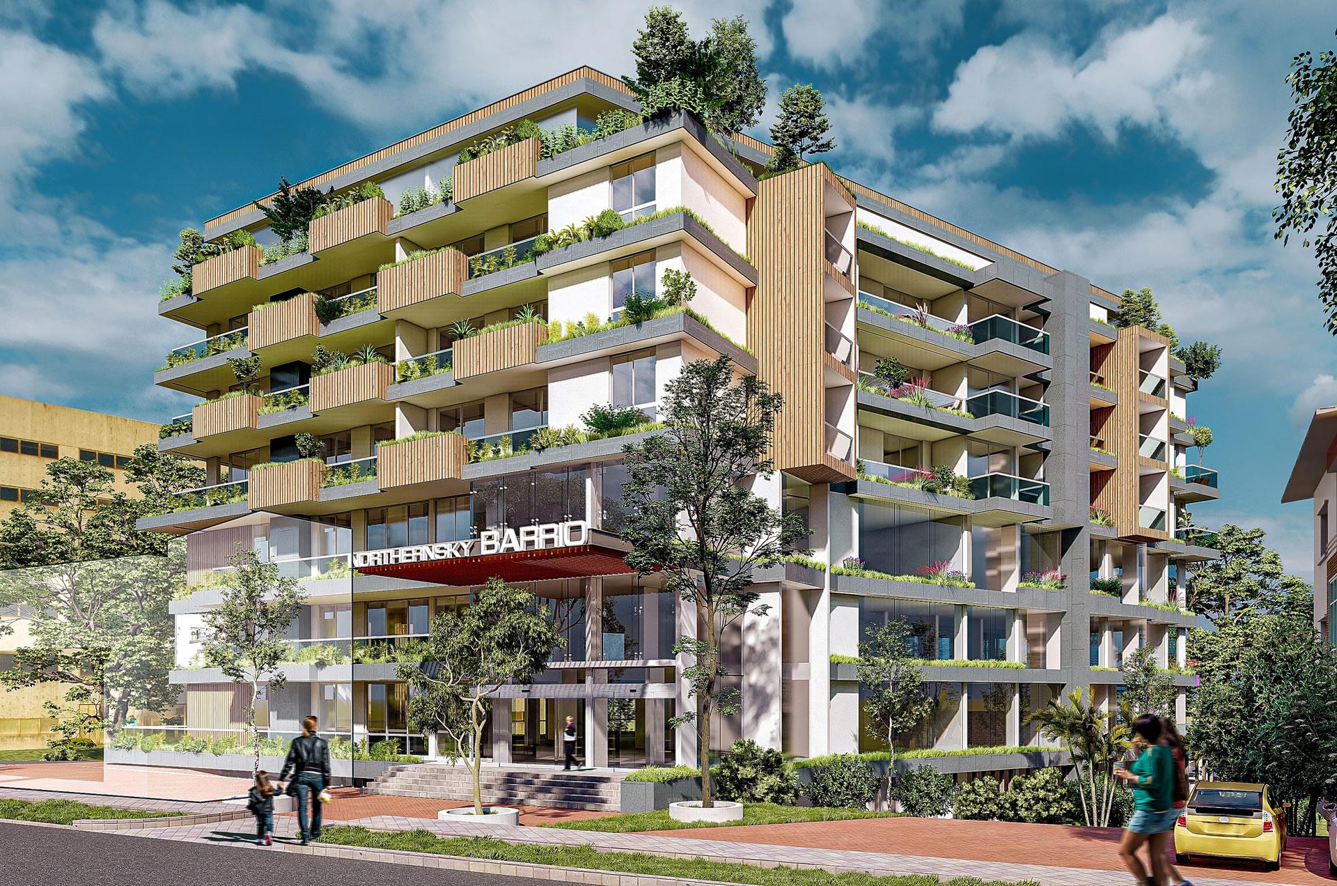 Northernsky Barrio Flat in Balmatta Mangalore