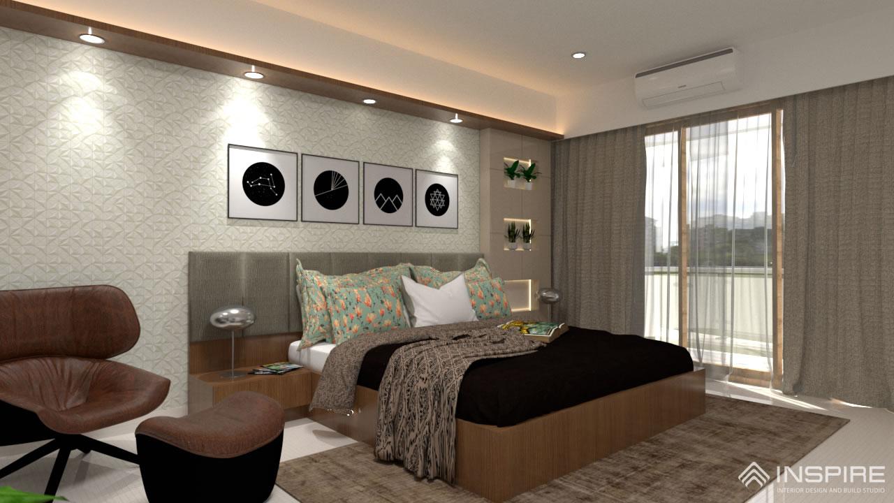 Luxury Bedroom Interior Design Mangalore